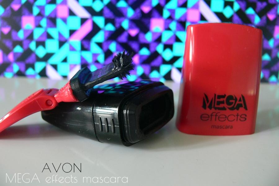 Avon Mega Effects Mascara Tusz do rzęs szczoteczka
