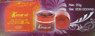 Kem dưỡng da, Kem dưỡng trắng da Karacei:  Hiệu quả tối ưu sau 7 ngày