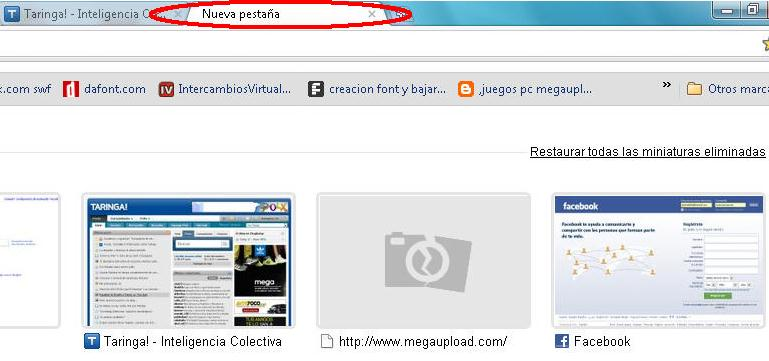 Google Chrome guardar Favoritos en la PC