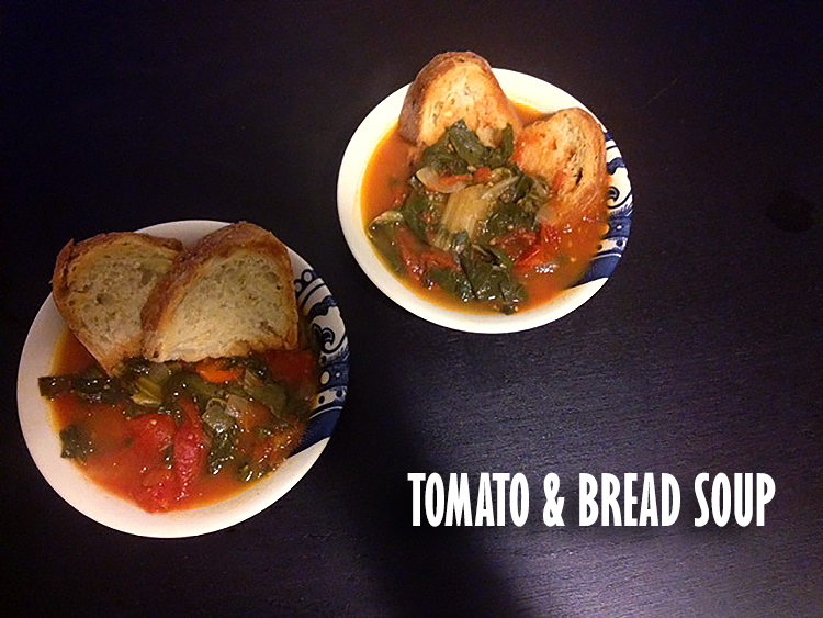 Meatless Monday: Tomato & Bread Soup | Hard Parade
