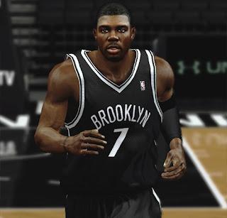 NBA 2K13 Joe Johnson Cyberface NBA2K Patch
