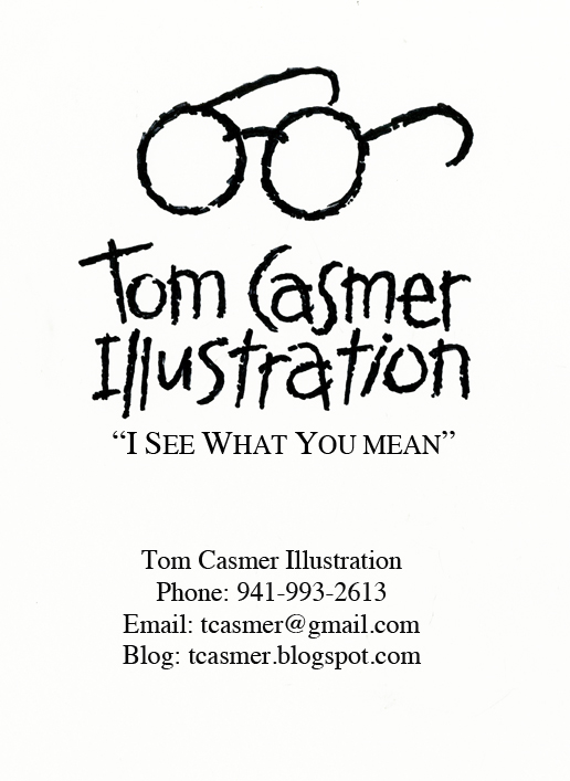 Tom Casmer Illustration