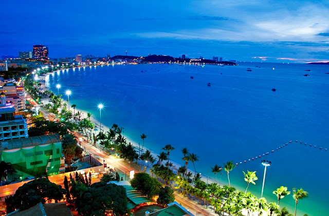 Khung cảnh đẹp tuyệt mỹ của Pattaya