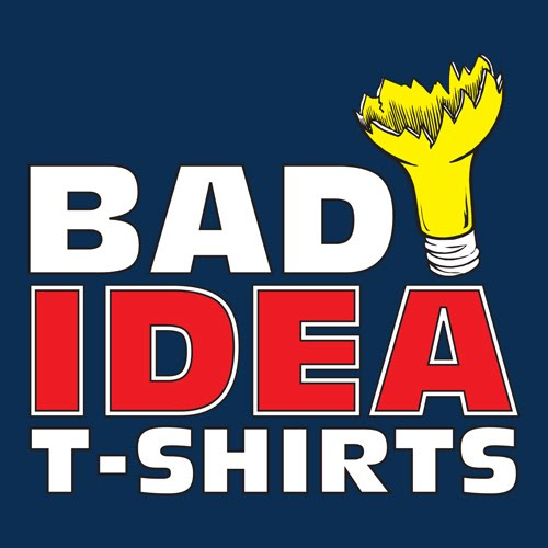 right out of the falcon 39 s mouth review bad idea t shirt. Black Bedroom Furniture Sets. Home Design Ideas