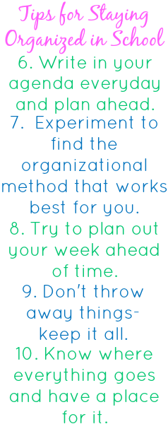 how to become more organized when youre not organized