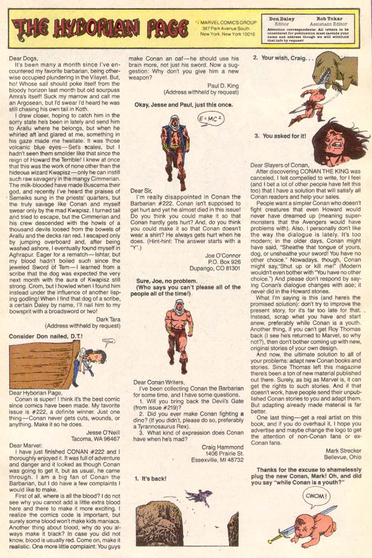 Conan the Barbarian (1970) Issue #226 #238 - English 24