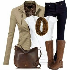 Leather-Jacket-and-Scarf
