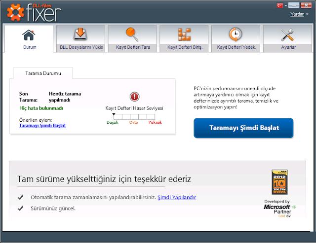 Dll-Files Fixer v3 Full Türkçe İndir