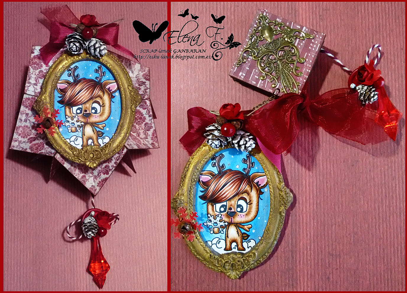 Quirky crafts challenges challenge 24 it 39 s nearly quirky for Quirky ornaments