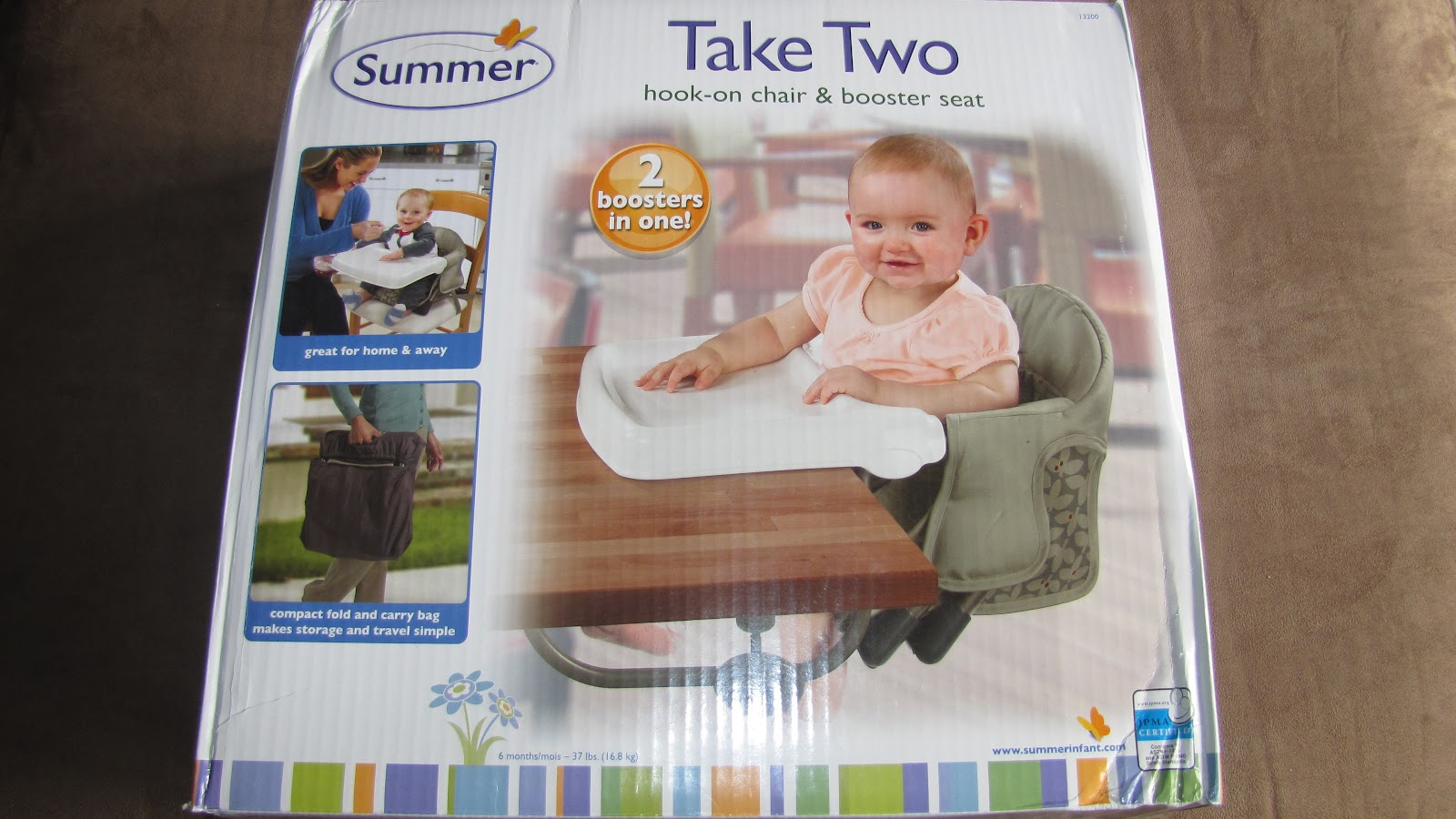 The Summer Infant Take Two Booster Seat Couldnu0027t Have Arrived At A Better  Time. Caysen Had Just Begun To Sit Up At The Table With Us And Eat Some  Solid ...