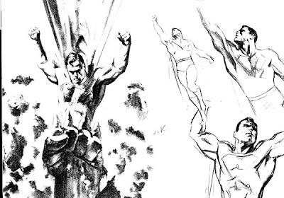 Superman illustrations