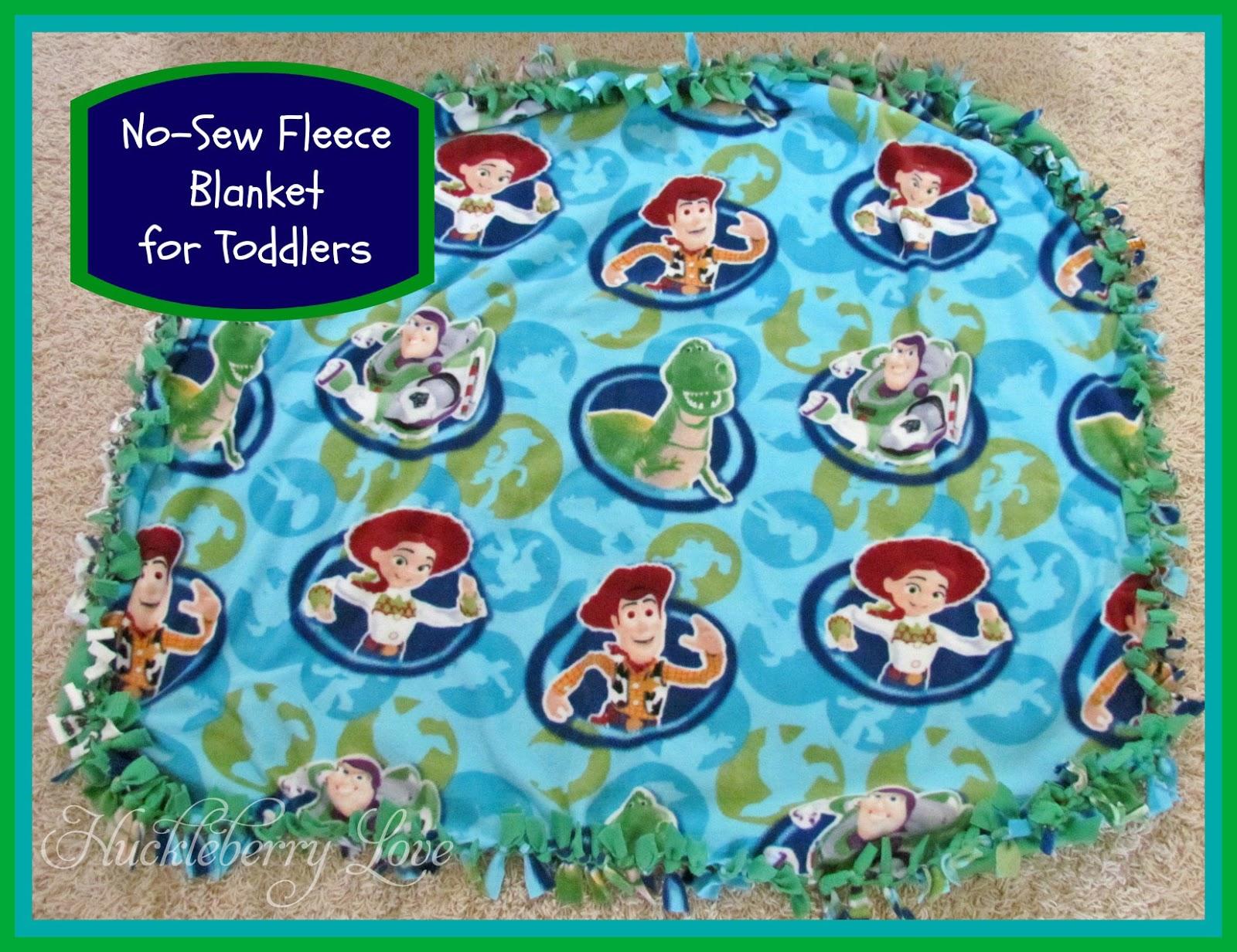 Huckleberry love no sew fleece blanket for toddlers no sew fleece blanket for toddlers ccuart Images