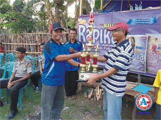 Sekda Buka Turnamen Sepak Bola Mini tingkat Kota Bima