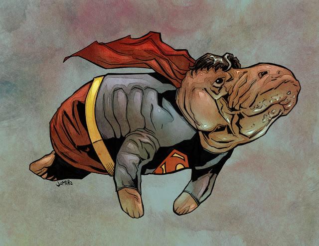 Если бы супер-герои были океанскими животными