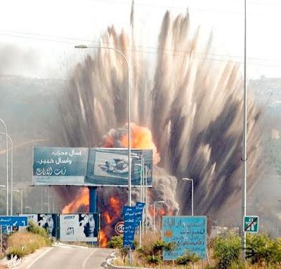 Israel Serang Markas Militan di Lebanon