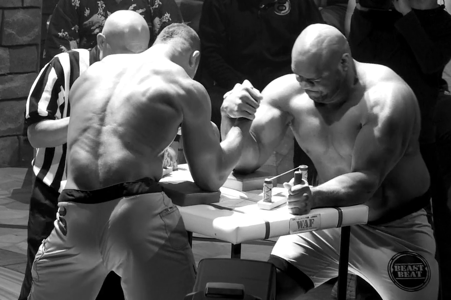 how to build arm wrestling strength