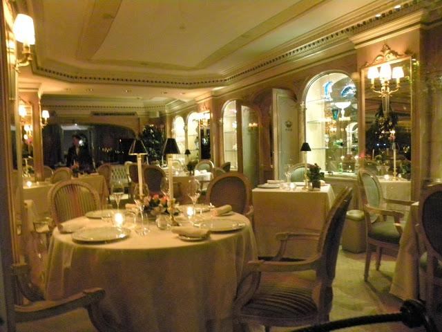 Michelin Restaurant Mirabelle Rome