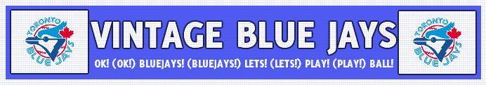 Vintage Blue Jays