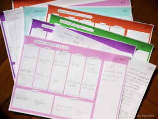 Planifier ses menus (plannings vierges à télécharger)