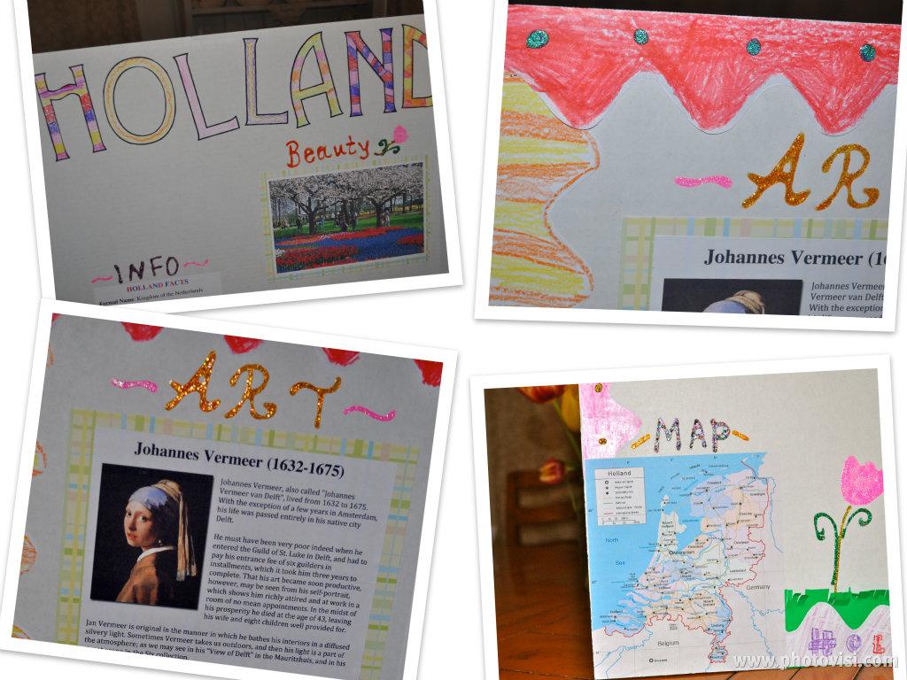 Book report collage ideas