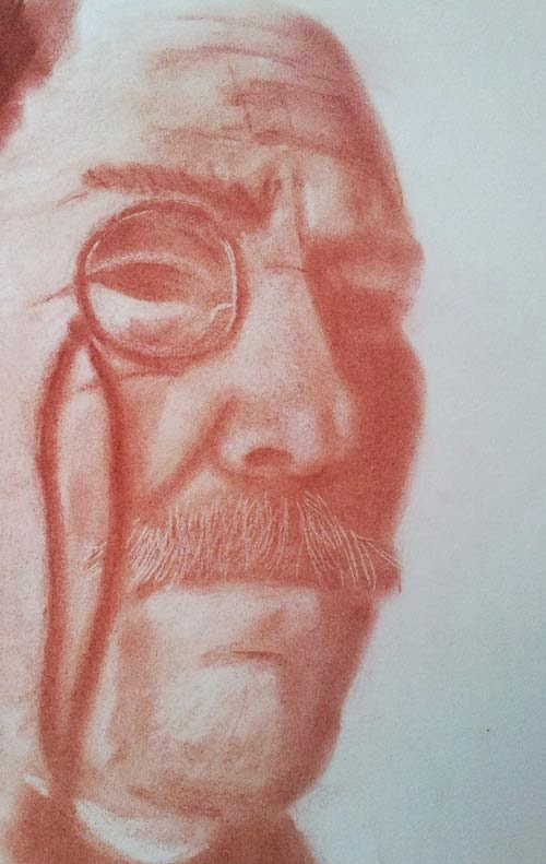 retrato de barnett newman