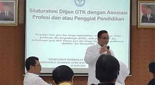 IGI ikuti Forum Silaturrahmi Kemendikbud Bersama Asosiasi Profesi dan Penggiat Pendidikan