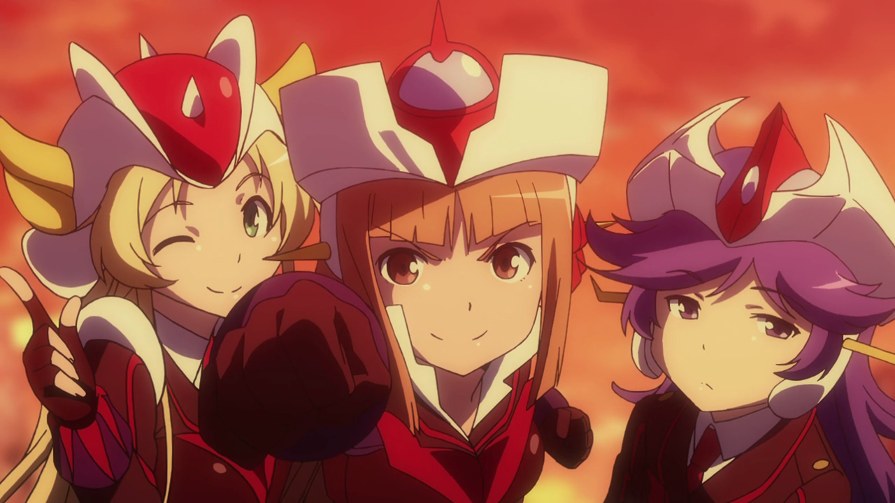 The Robot Girls Z - Grenda-san, Z-chan and Gre-chan