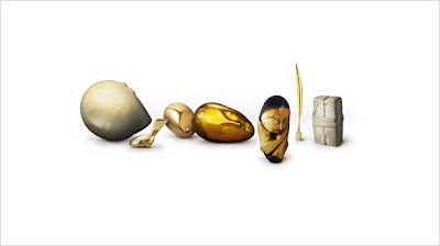 Google Celebrates 135th Constantin Brancusi with Doodle
