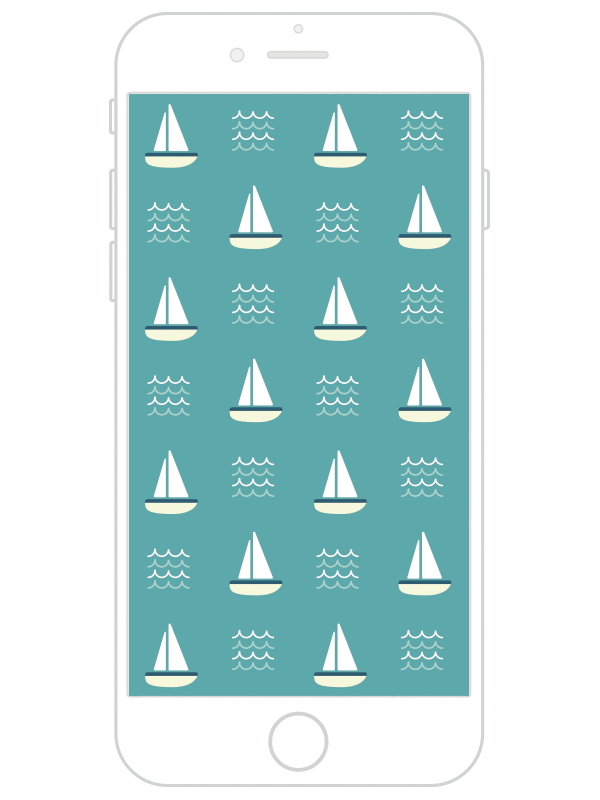 am design shop, iPhone 6 wallpaper, iPhone wallpaper, sailboats, nautical phone wallpaper