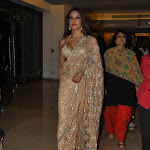 Bipasha Basu Sexy Cleavage Show in Saree At The Film 'Jodi Breaker' Audio Launch
