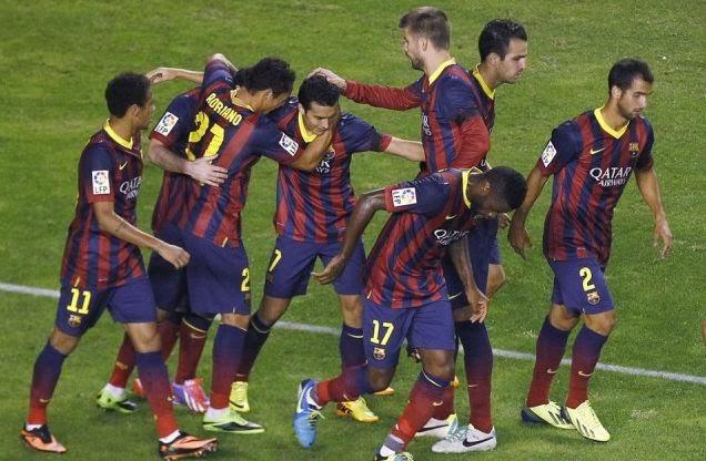 Barcelona vs Rayo Vallecano La Liga