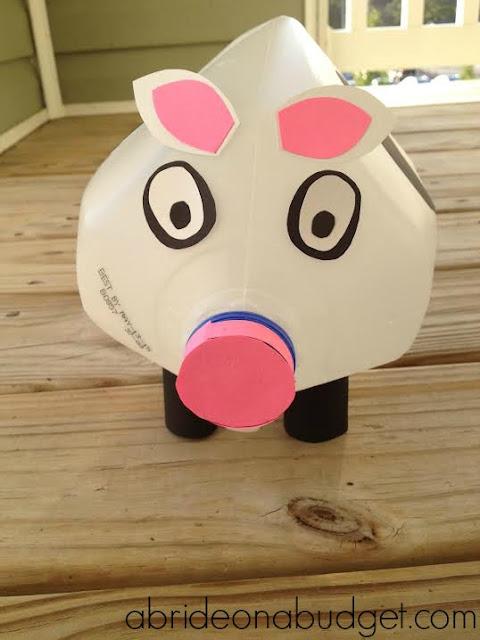 homemade cow centerpiece