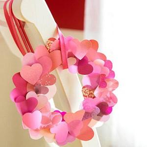 How to Make a Heart Wreath