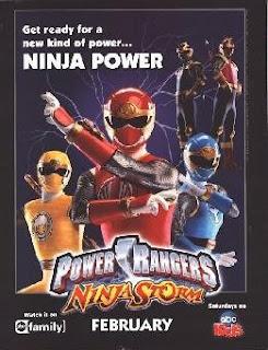 Siêu Nhân Cuồng Phong - Power Rangers Ninja Storm 2004