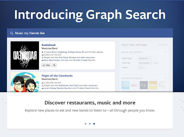 Facebook's new graph search