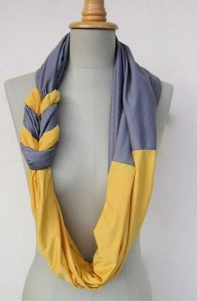 Bufandas de tela, moda