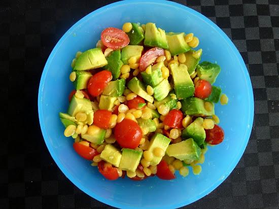 Vanilla & Spice: Yellow Split Pea Salad