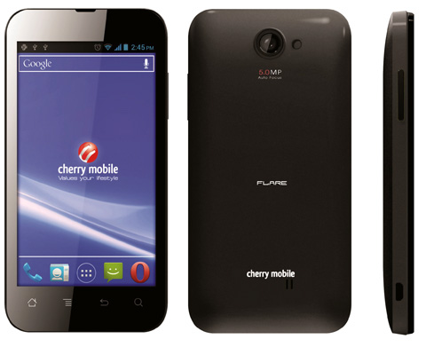 If the cherry mobile flare is to small and just not does do it for you
