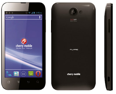 Cherry Mobile Releases a Software Update for its Flare