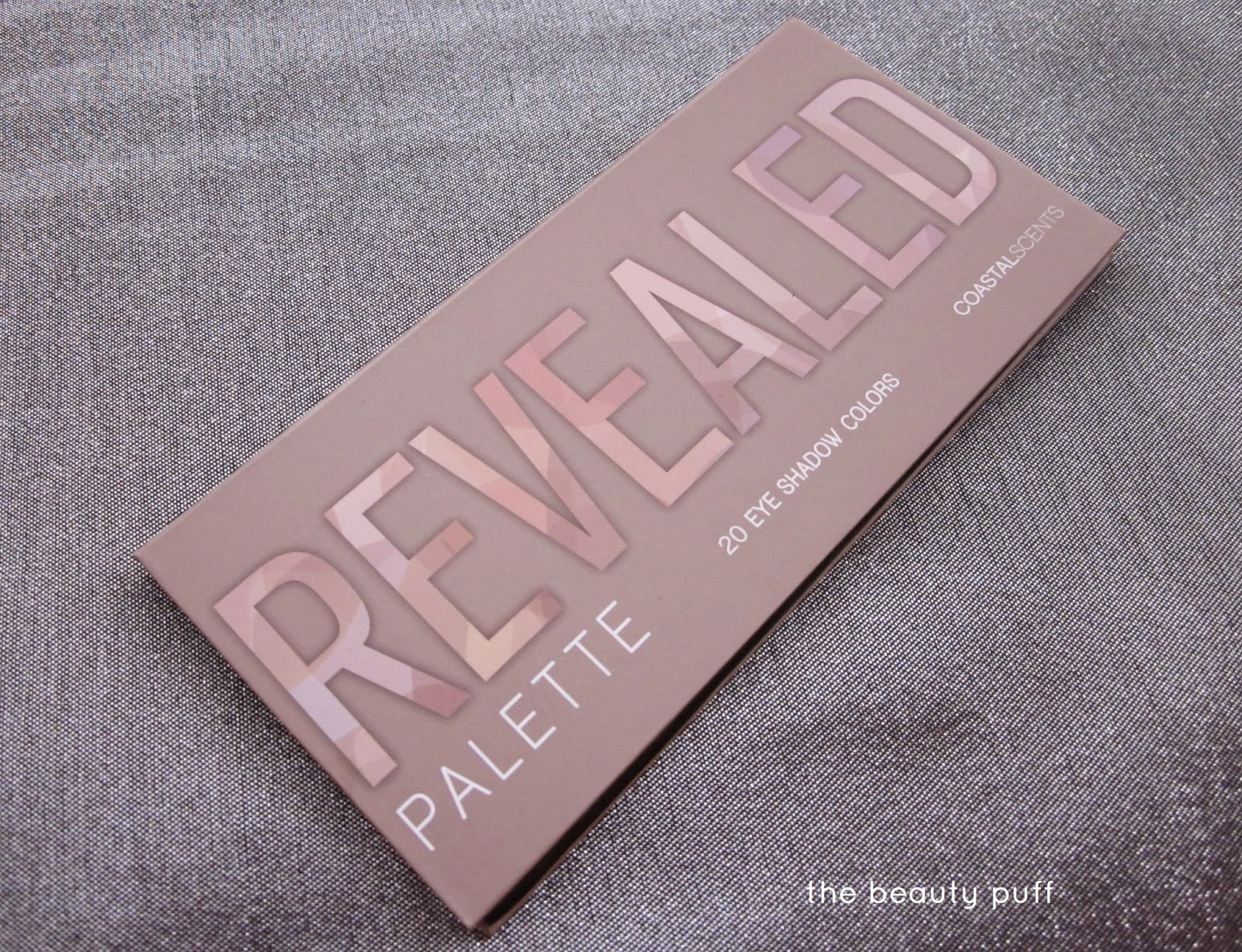 Coastal Scents Revealed Palette - The Beauty Puff
