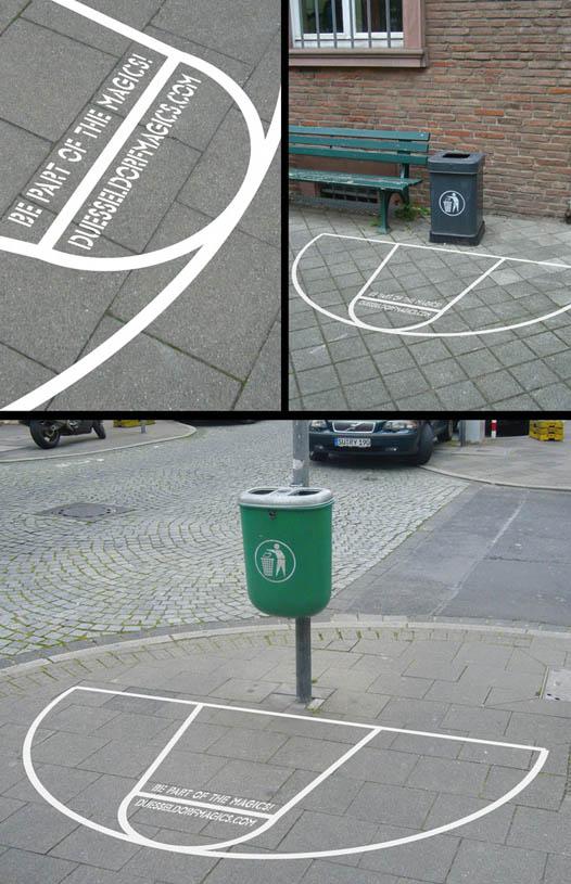 Ciudad observatorio peque a escala anuncios que se for Making a basketball court