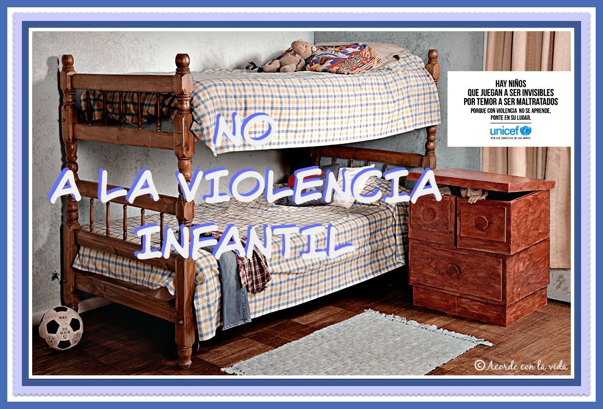 * NO a la Violencia Infantil *