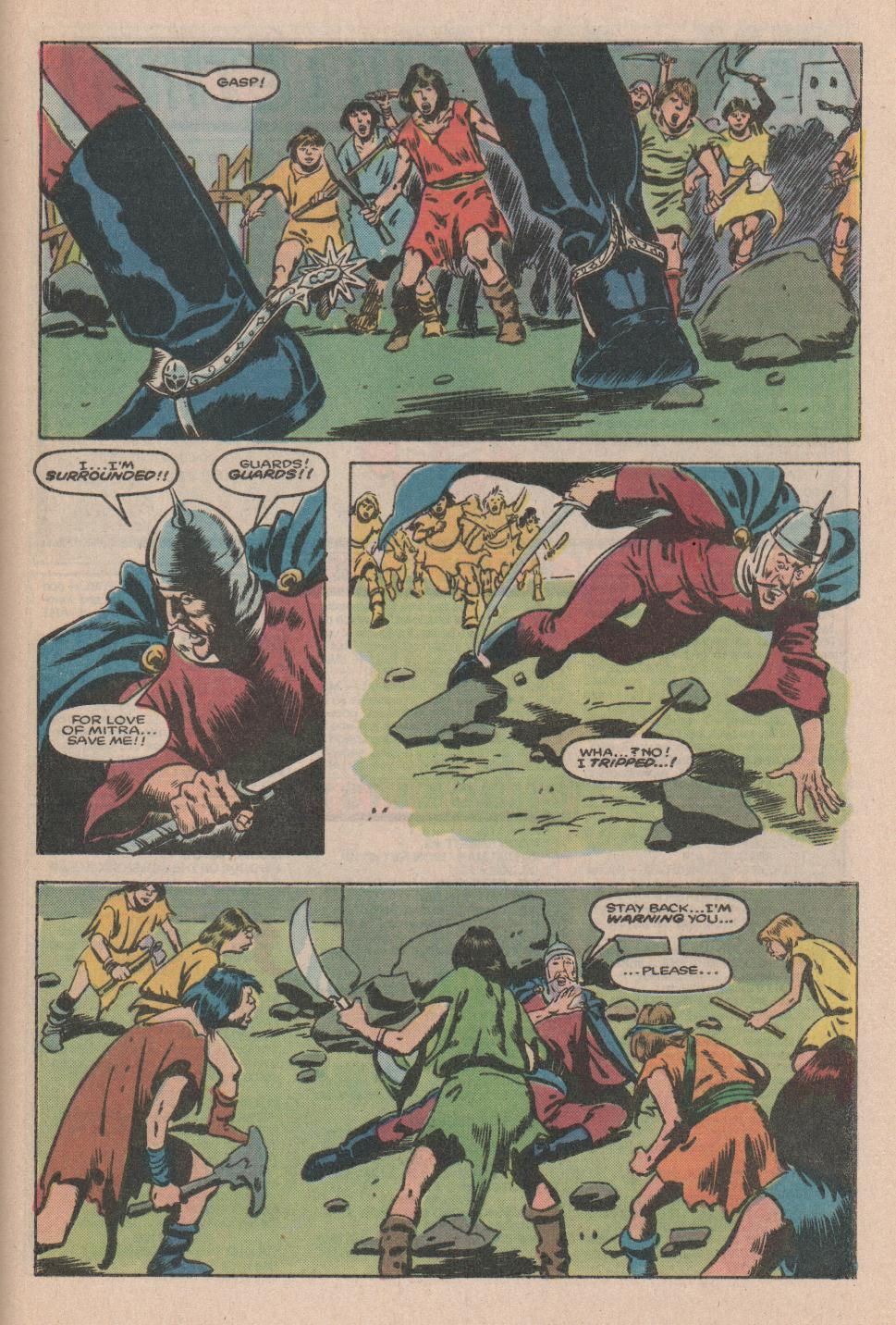 Conan the Barbarian (1970) Issue #174 #186 - English 21