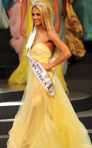 Melinda Bam,Miss South Africa 2011,Miss S A 2011