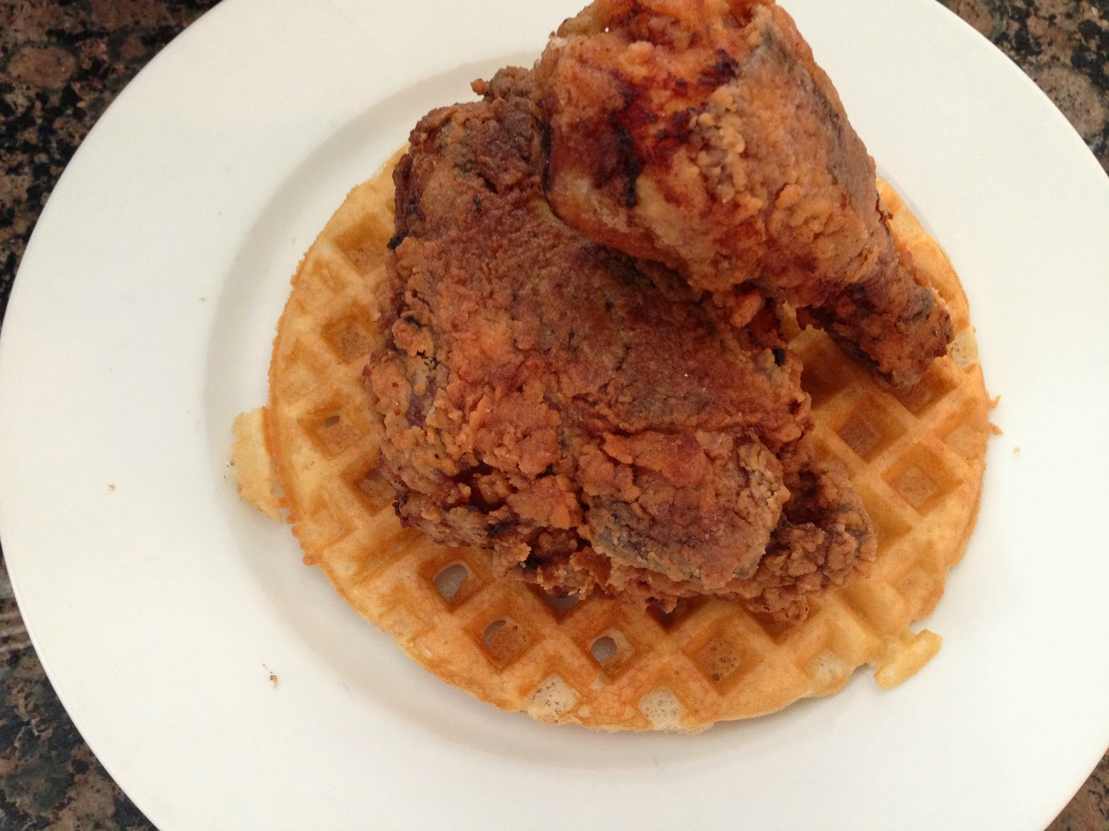 revelation! I made gluten free fried chicken AND gluten free waffles ...