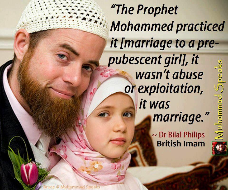 """Νύφη ετών...6! Ιδού η """"νόμιμη"""" παιδεραστία που προωθεί το Ισλάμ"""