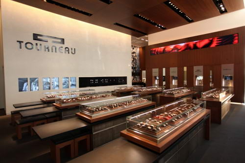 Tourneau The Elegant Watch Store Design