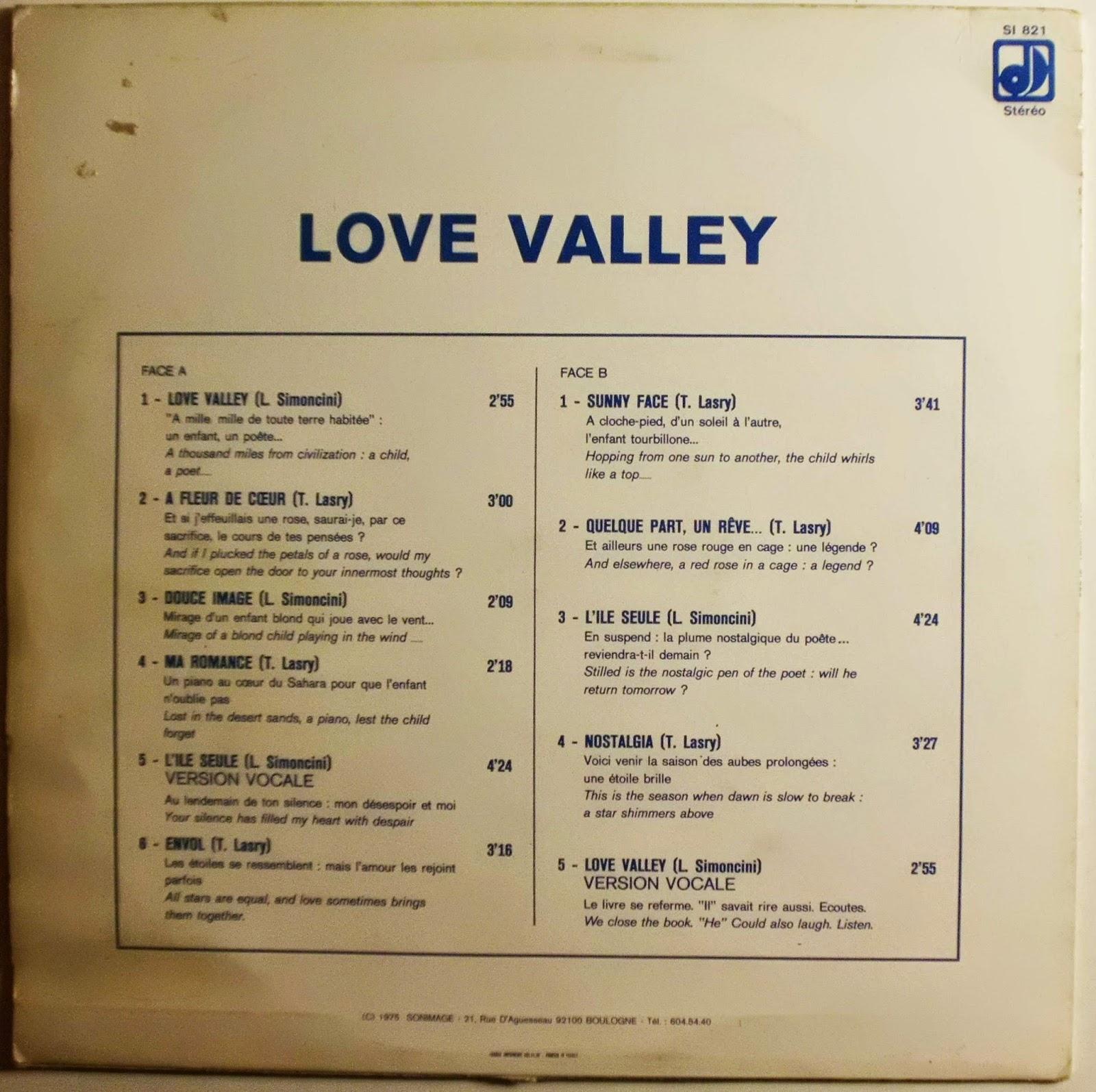 Luciano Simoncini Teddy Lasry Love Valley