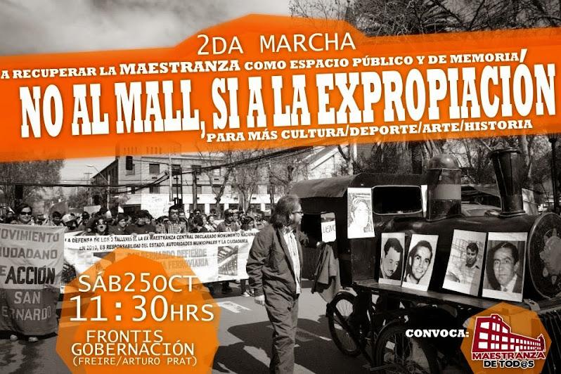 SAN BERNARDO: 2ª MARCHA RECUPERAR LA MAESTRANZA COMO ESPACIO PUBLICO Y DE MEMORIA