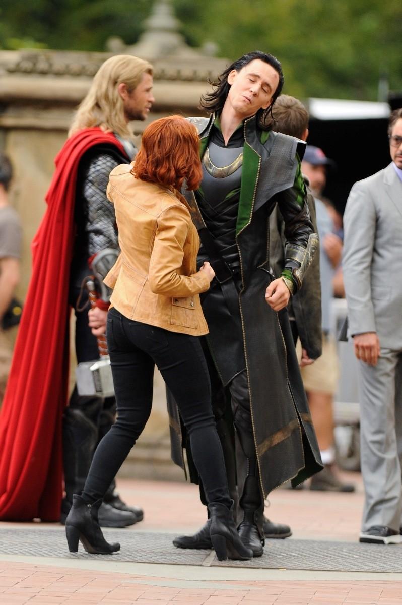 Scarlett Johansson Black Widow Avengers